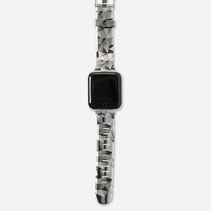Justice Accessories - Silver Geographic Smartwatch